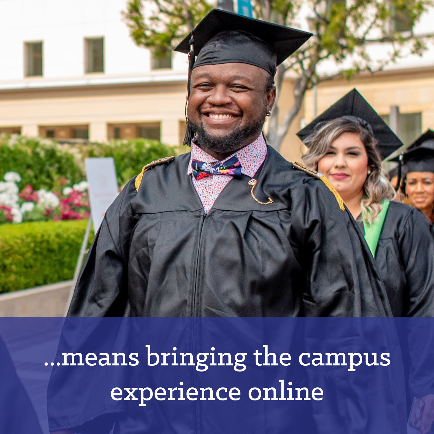 Campus experience online